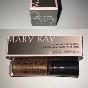 NIB Mary Kay Beach Bronze Nourishine Lipgloss